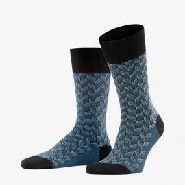 Falke black capital rhythm men socks