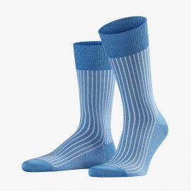 Falke linen oxford stripe men socks
