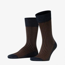 Falke rock oxford stripe men socks