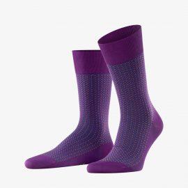 Falke ultraviolet uptown tie men socks