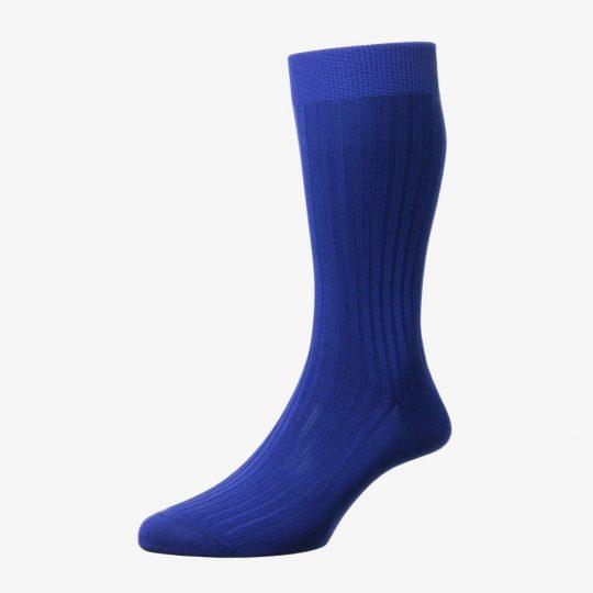 Pantherella Danvers ultramarine men's socks