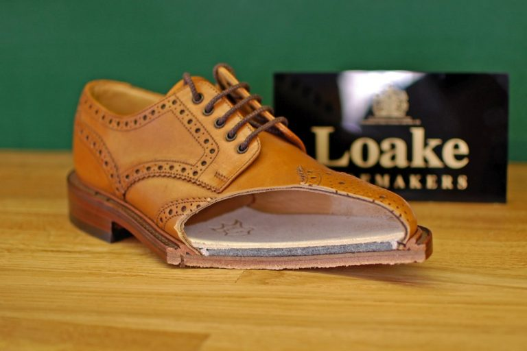What is Goodyear welt shoe construction