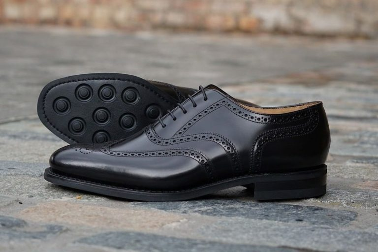 6 styles of men's brogue shoes