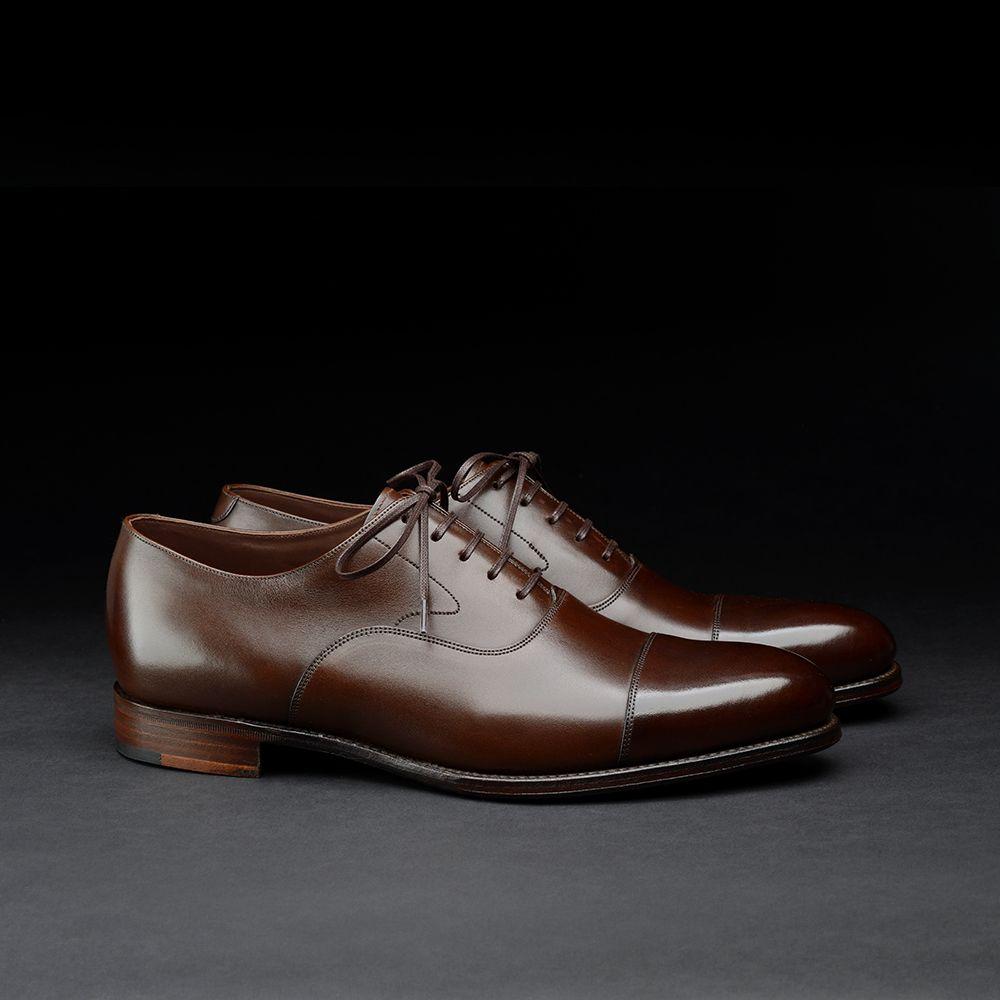 Loake 1880 Export Grade toe cap oxford shoes