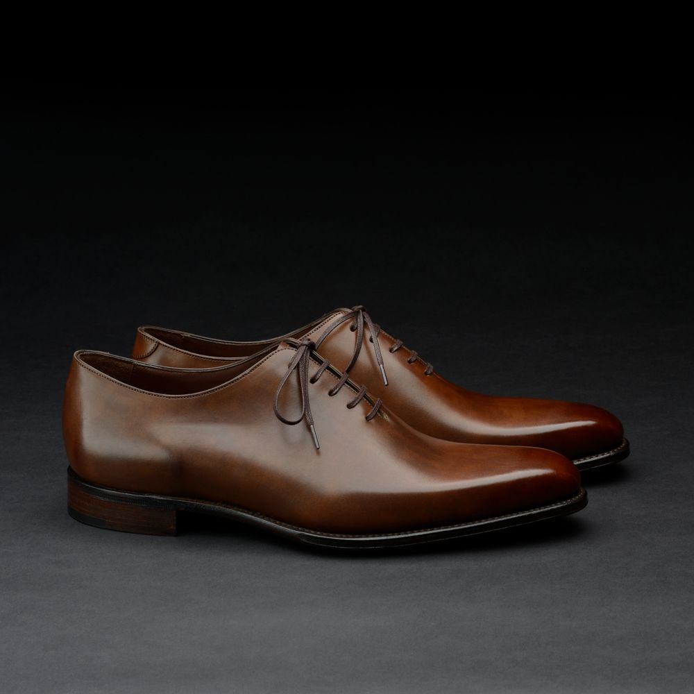 Loake 1880 Export Grade wholecut oxford shoes