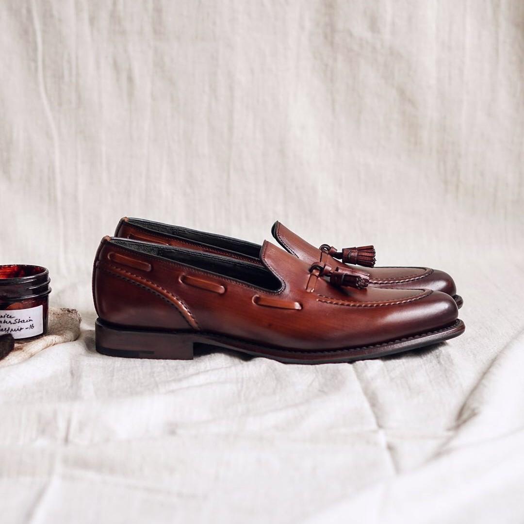 Loake Locke tassel loafers