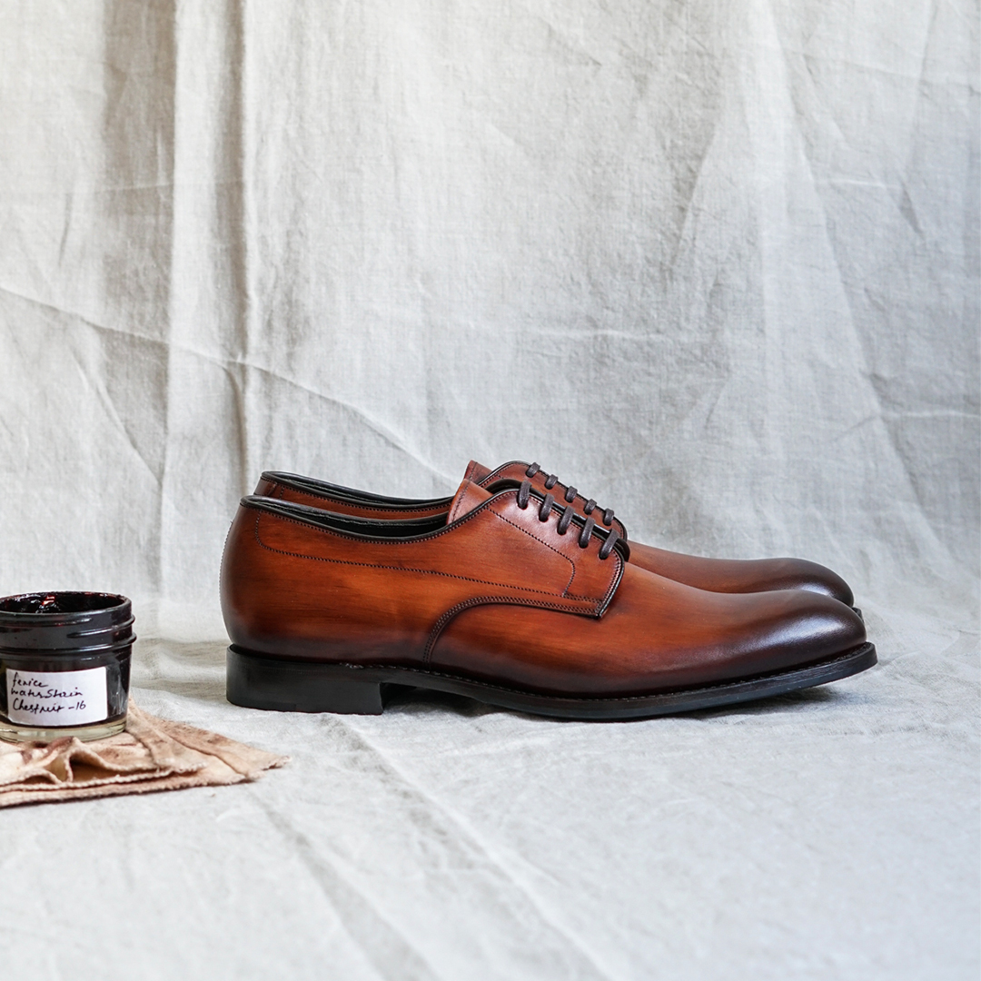 Loake Stubbs derby shoes