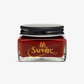 Saphir mahogany shoe cream polish