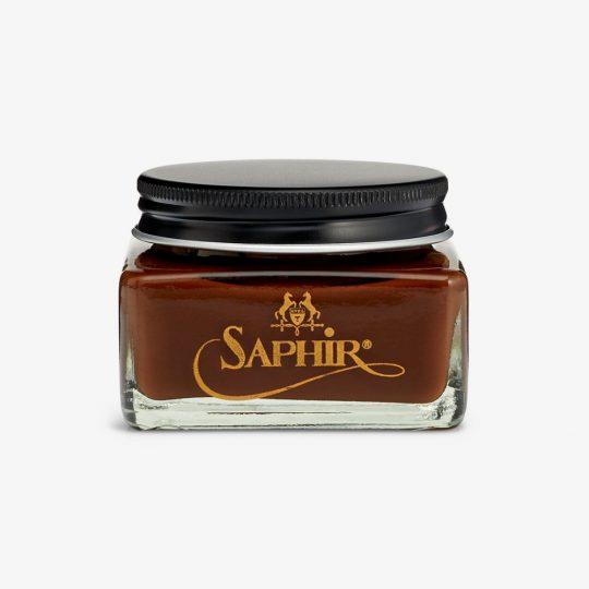 Saphir medium brown shoe cream polish