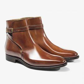Carlos Santos Aaron 4125 brown jodhpur boots