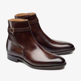 Carlos Santos Aaron 4125 dark brown jodhpur boots