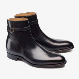 Carlos Santos Aaron 4125 black jodhpur boots