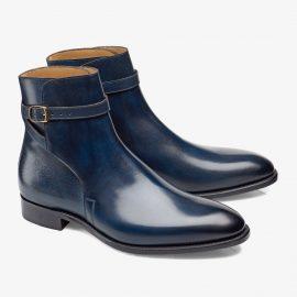 Carlos Santos Aaron 4125 navy jodhpur boots