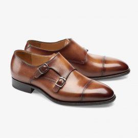 Carlos Santos Andrew 6942 brown monk strap shoes