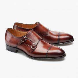 Carlos Santos Andrew 6942 red monk strap shoes