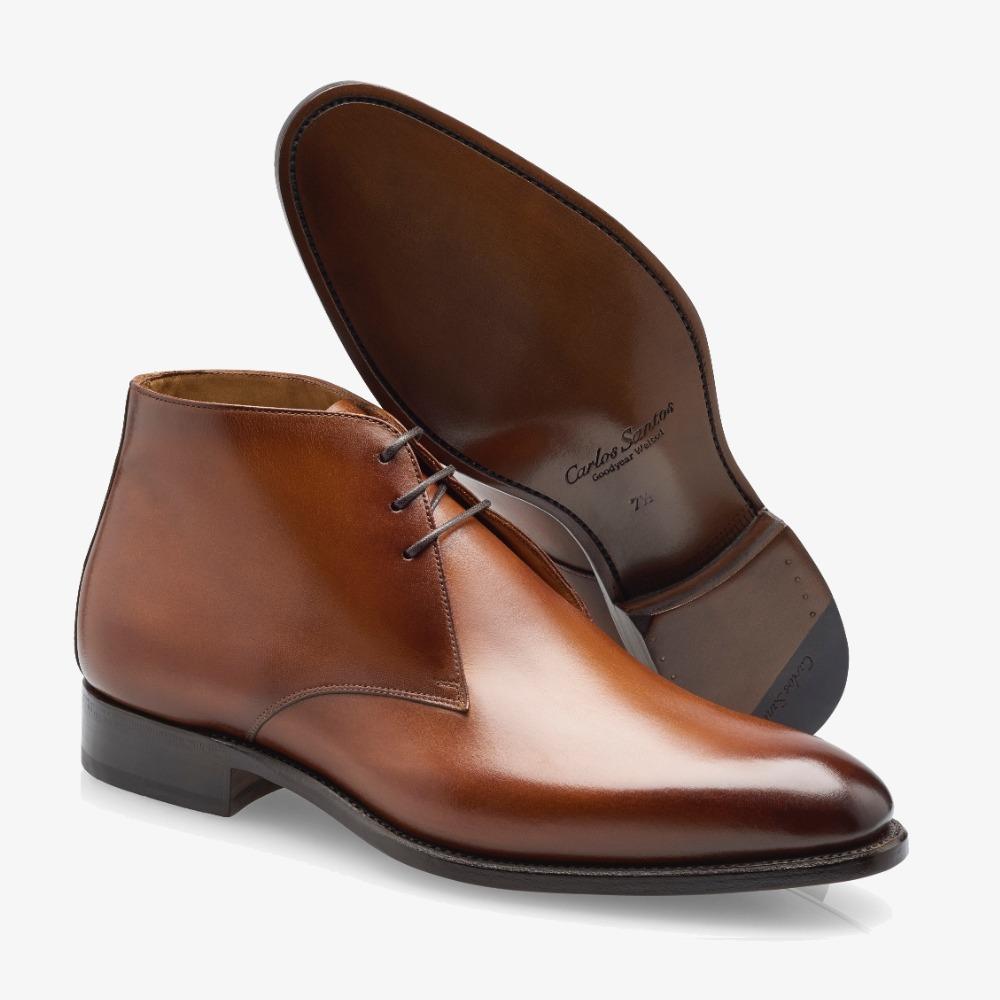 Carlos Santos Charlie 1991 brown chukka boots