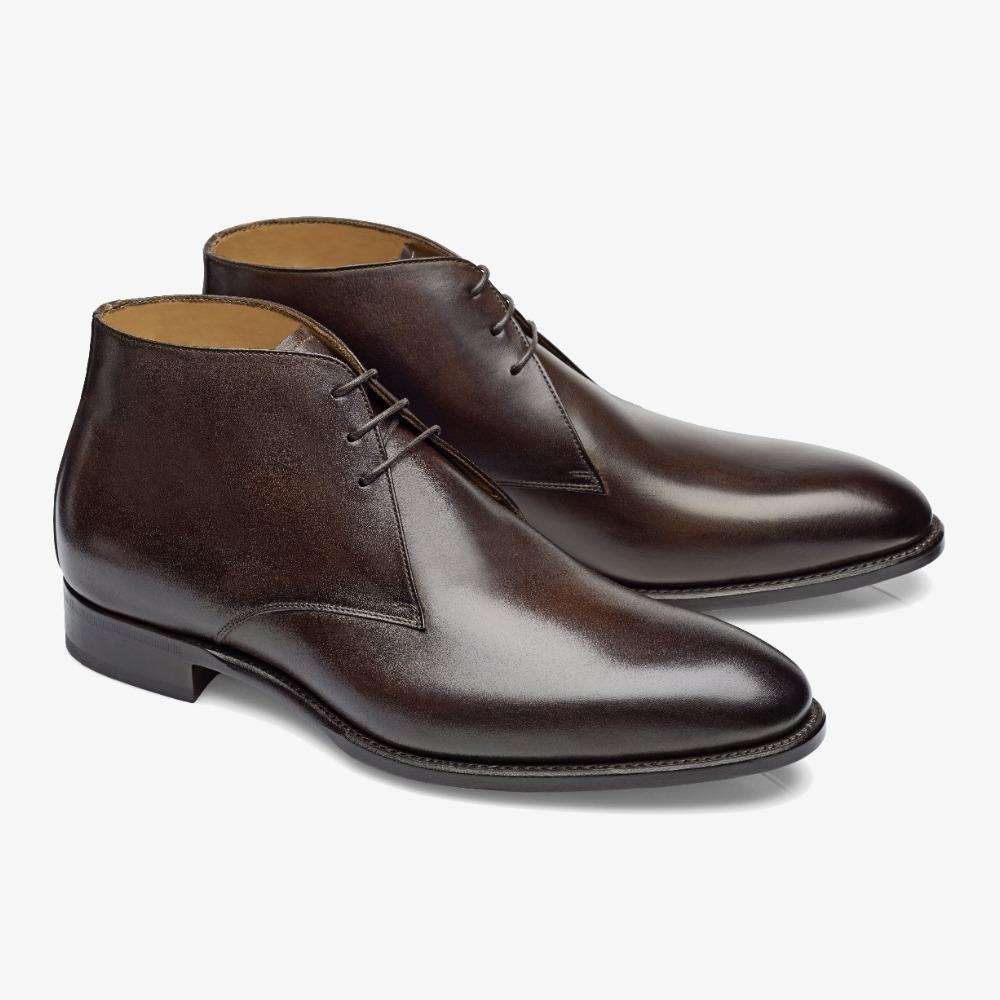 Carlos Santos Charlie 1991 dark brown chukka boots