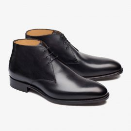 Carlos Santos Charlie 1991 black chukka boots