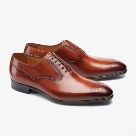 Carlos Santos Clint 8035 brown oxford shoes