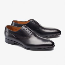 Carlos Santos Clint 8035 black oxford shoes