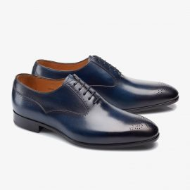 Carlos Santos Clint 8035 navy oxford shoes