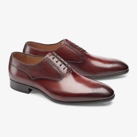 Carlos Santos Clint 8035 red oxford shoes