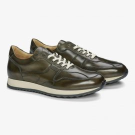 Carlos Santos Damien 8894b dark green sneakers