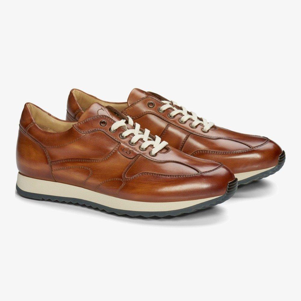 Carlos Santos Damien 8894b brown sneakers