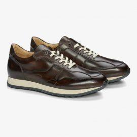 Carlos Santos Damien 8894b dark brown sneakers