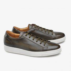 Carlos Santos Elmer 9617 dark green sneakers