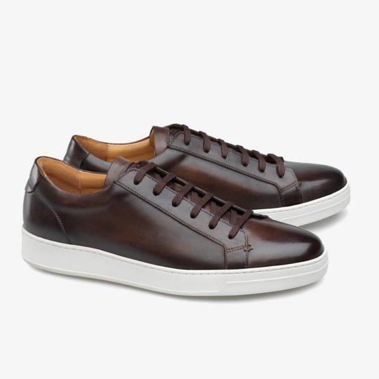 Carlos Santos Elmer 9617 dark brown sneakers