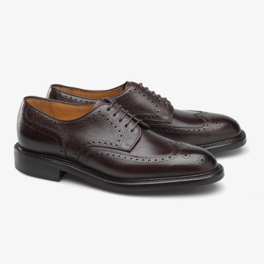 Carlos Santos Eric 9847 dark brown brogue shoes