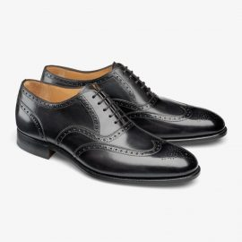 Carlos Santos Frank 7273 black brogue oxford shoes