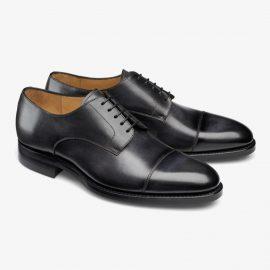 Carlos Santos Gary 9381 black toe cap derby shoes
