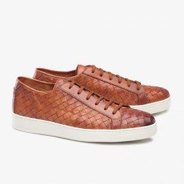 Carlos Santos George 9246 brown sneakers
