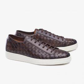 Carlos Santos George 9246 dark brown sneakers