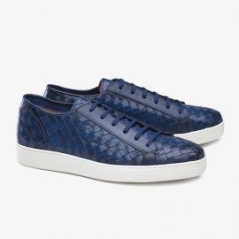 Carlos Santos George 9246 navy sneakers