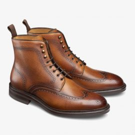 Carlos Santos Gladiator 8922 brown brogue boots