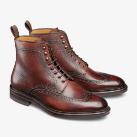 Carlos Santos Gladiator 8922 red brogue boots