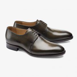 Carlos Santos Michael 7201 dark green derby shoes