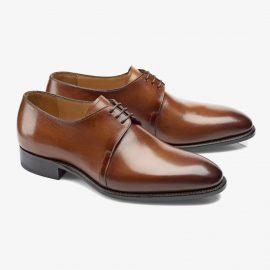 Carlos Santos Michael 7201 brown derby shoes
