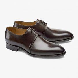 Carlos Santos Michael 7201 dark brown derby shoes