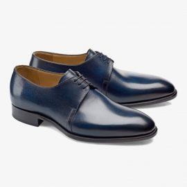 Carlos Santos Michael 7201 navy derby shoes