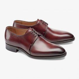 Carlos Santos Michael 7201 red derby shoes