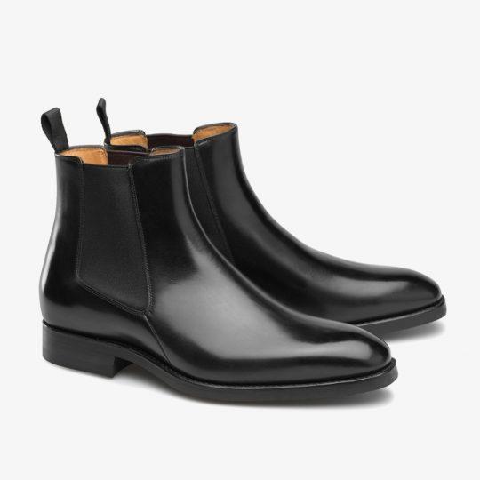 Carlos Santos Norris 7902 black Chelsea boots