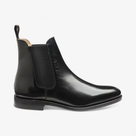 Loake 290 polished leather blackChelsea boots