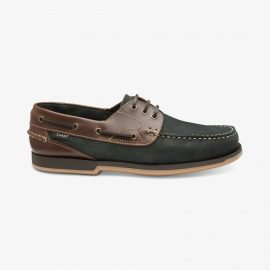 Loake 521 navy boat deck shoes