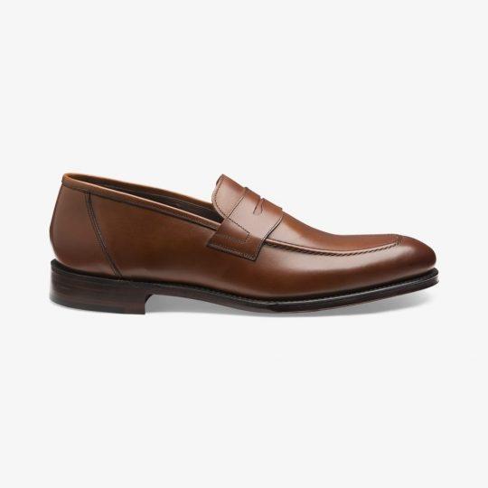 Loake Anson mahogany penny loafers
