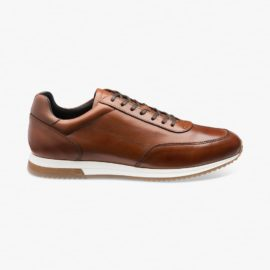 Loake Bannister cedar sneakers