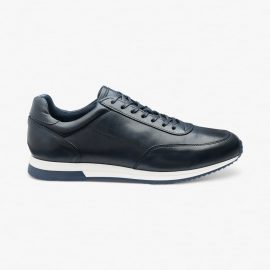 Loake Bannister navy sneakers